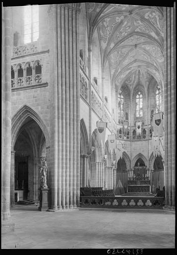 Chapelle de l'Abbé : fresques de la voûte du choeur