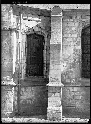 Extérieur : fenêtres