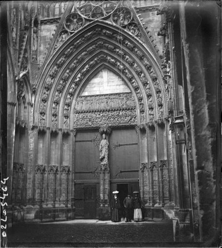 Portail des Librairies du transept nord