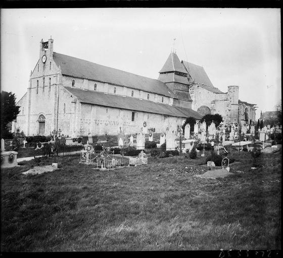 Ensemble sud-ouest et le cimetière