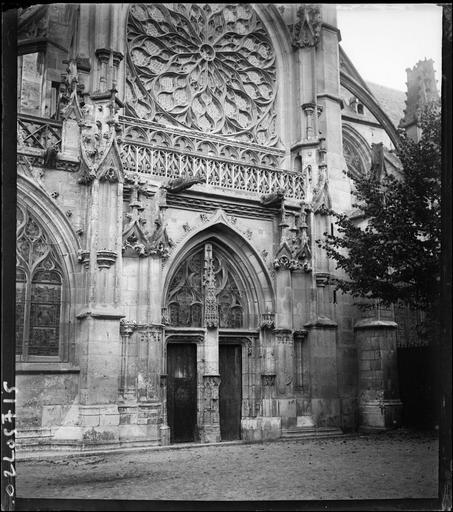 Portail du transept sud