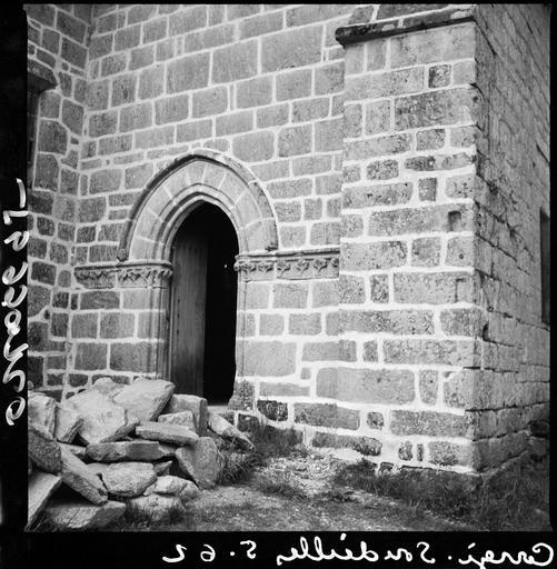 Portail ouest de la chapelle sud