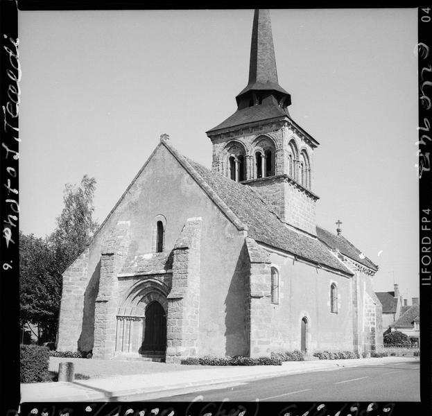 Ensemble sud-ouest et clocher