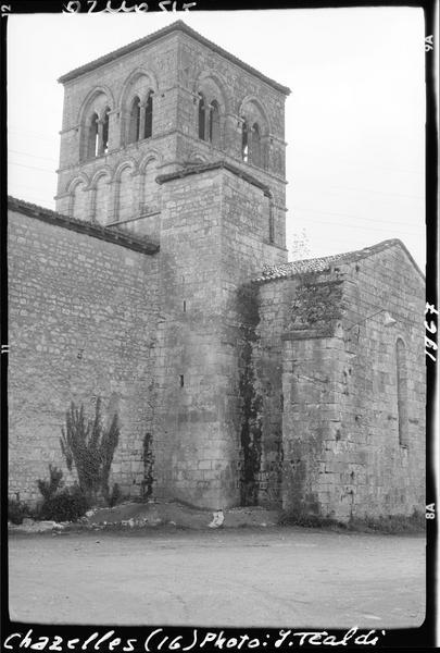 Angle sud-est et clocher