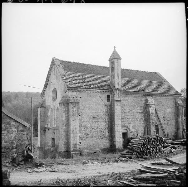 Chapelle de la Corroierie : façade nord