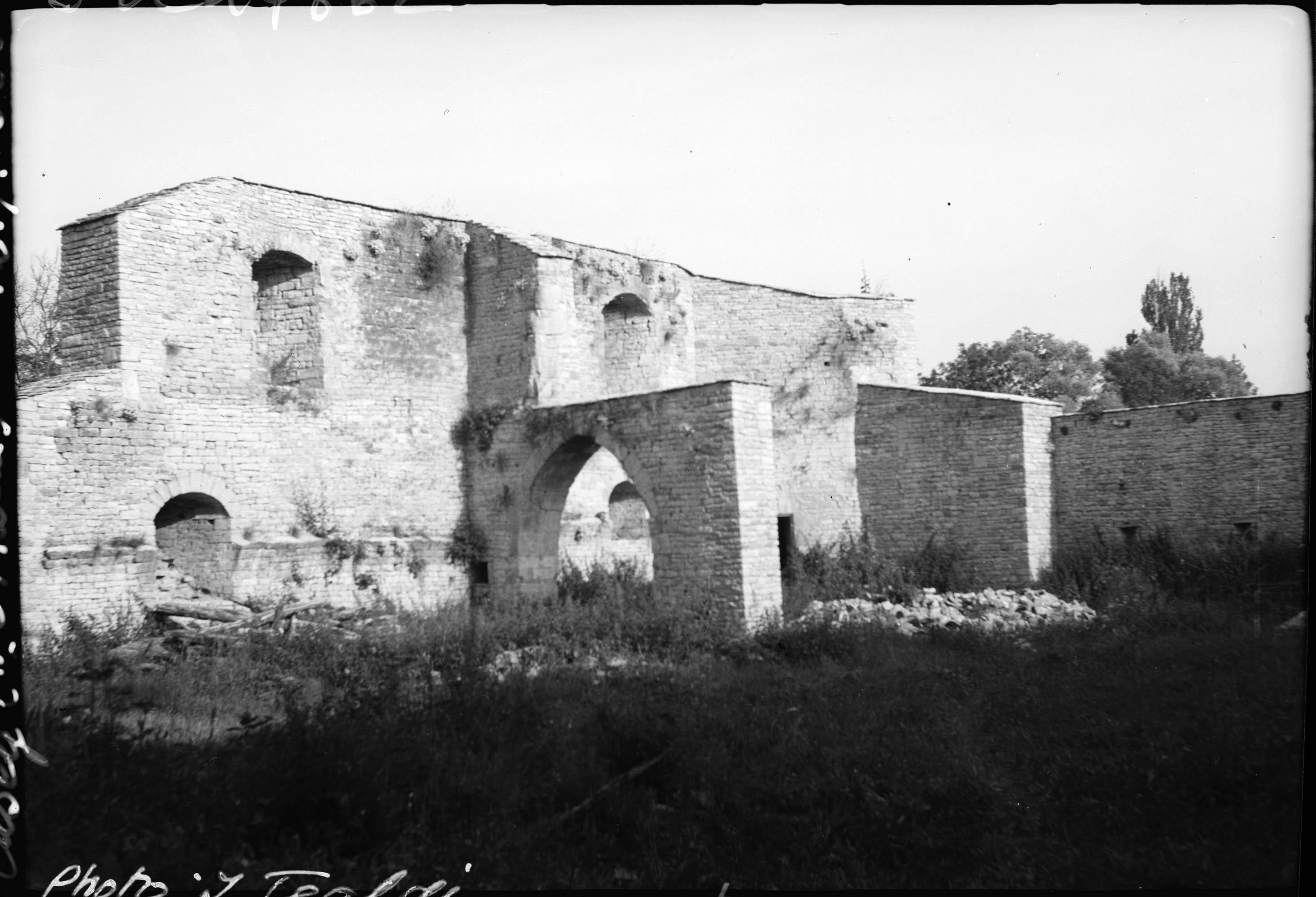 Ensemble des ruines, vue intérieure