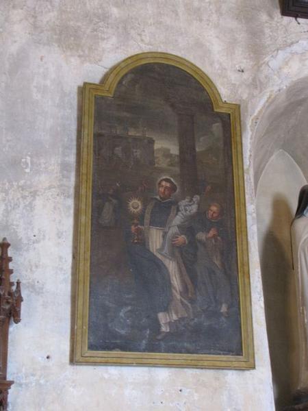 tableau : le Miracle de saint Hyacinthe, vue générale