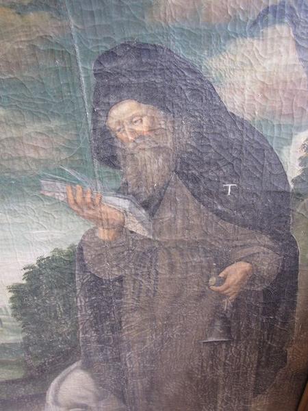 tableau : saint Paul ermite et saint Antoine abbé