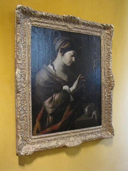 tableau : La Madeleine, vue générale
