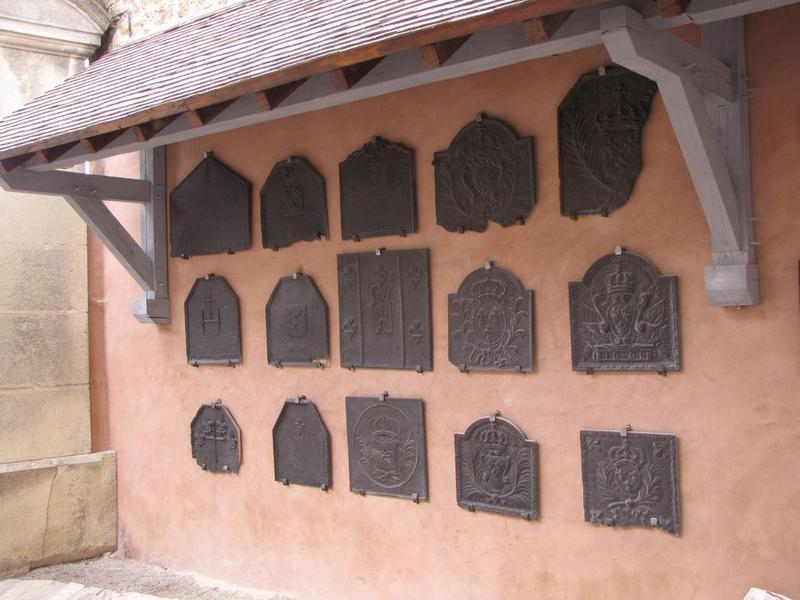 75 plaques de cheminée