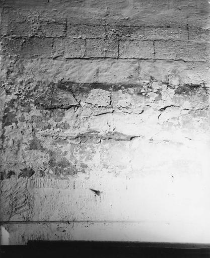 Peintures monumentales, mur Est de la sacristie