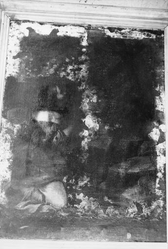 Madeleine pénitente, avant restauration, vue générale