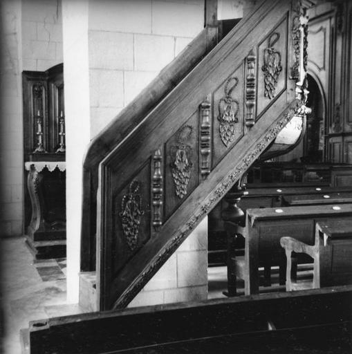 Escalier de la chaire à prêcher