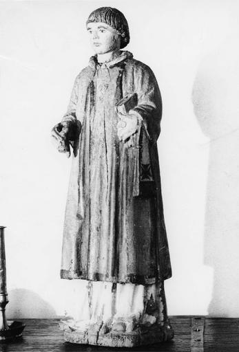 Statue : moine bois, début 16e siècle, classée le 8 décembre 1971