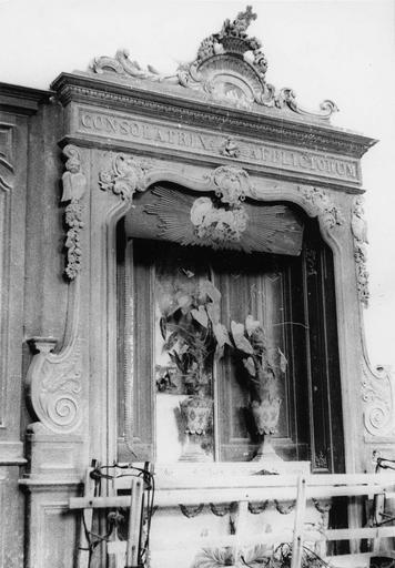 Éléments de retable, bois, 18e siècle