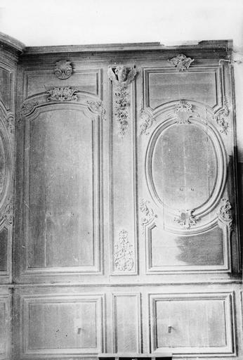 Lambris de revêtement, bois, 18e siècle
