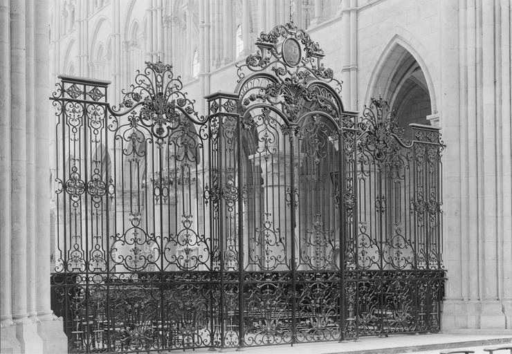 Clôture de choeur style Louis XIV