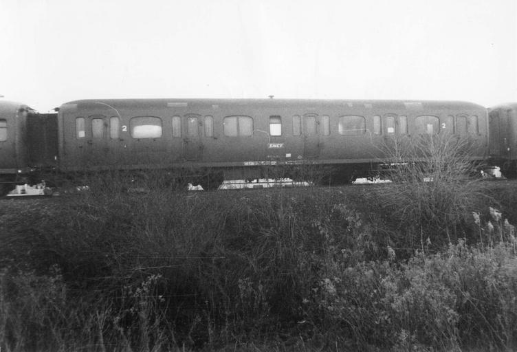 Rame de six véhicules type express, 1928-1929, B9r37646