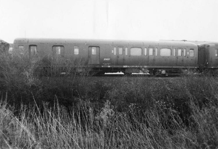 rame de six véhicules type express, 1928-1929, B5Dr07486