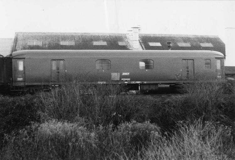Rame de six véhicules type express, 1928-1929, Dd4K40206