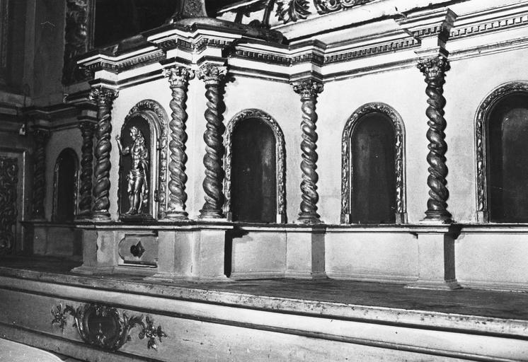 Tabernacle, partie droite