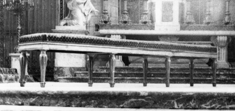 Banquette, bois, époque Louis XVI