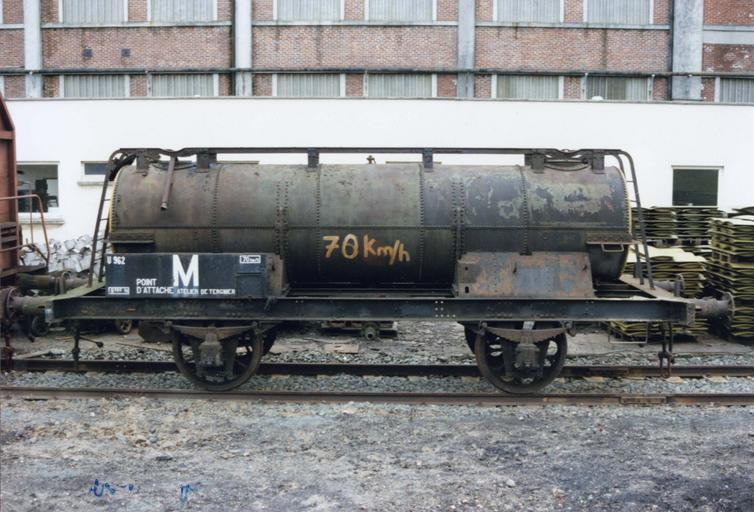 Wagon citerne à deux essieux, état II, SC 955607