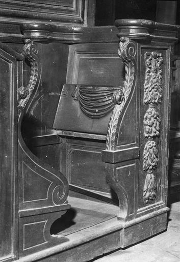 Stalle isolée, bois, 1ère moitié du 17e siècle