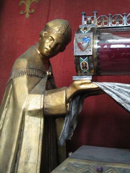 Reliquaire-monstrance des saints Crépin et Crépinien