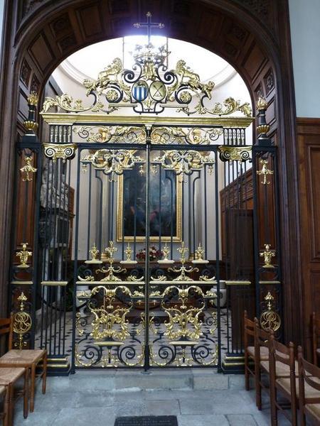 Clôture de la chapelle funéraire des Stoppa