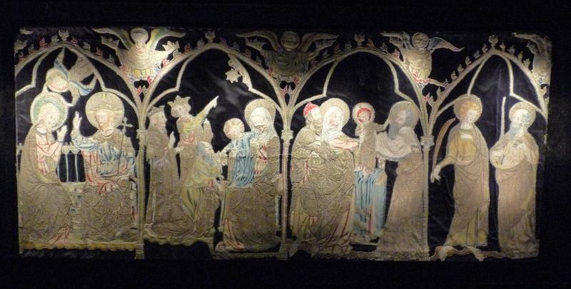 Antependium : scènes de la vie de la Vierge