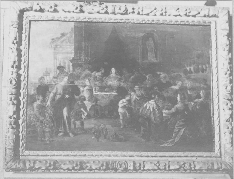 tableau, cadre : les Noces de Cana, vue générale