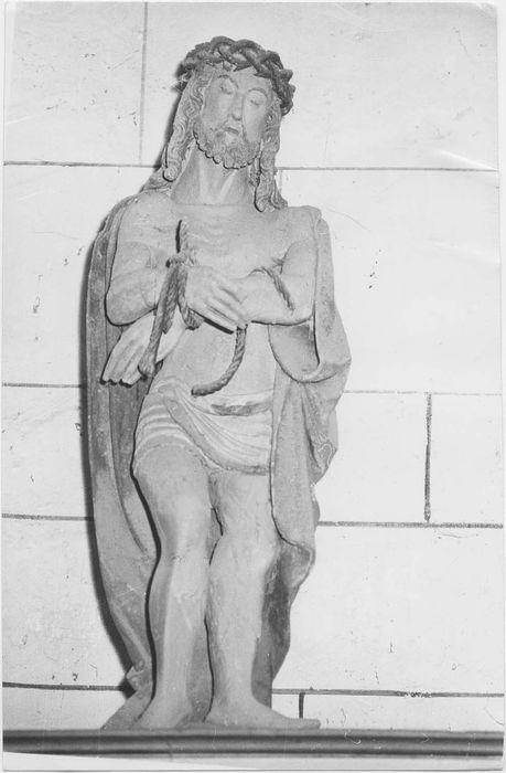 Statue : Ecce homo (ou Christ de Pitié)