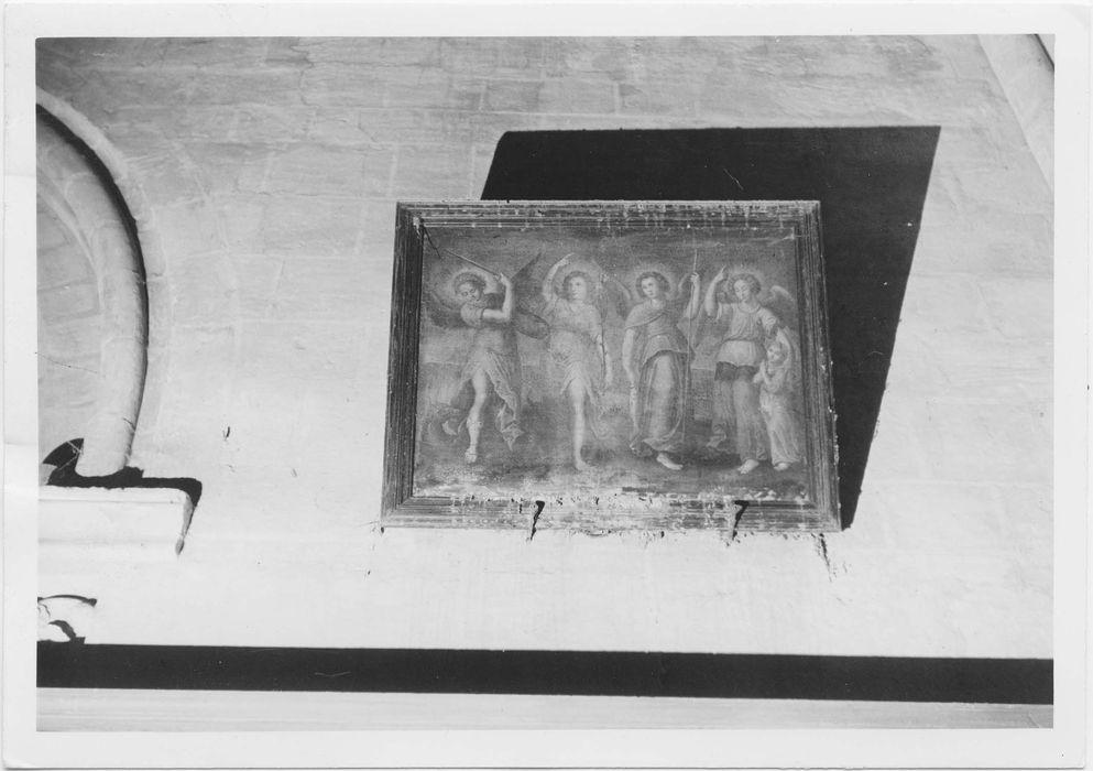 Tableau : Quatre anges