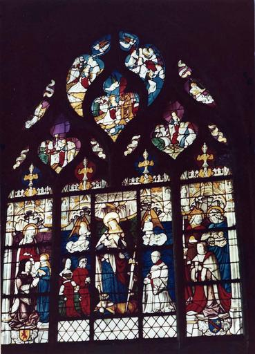 Verrière : des ducs et de sainte Catherine