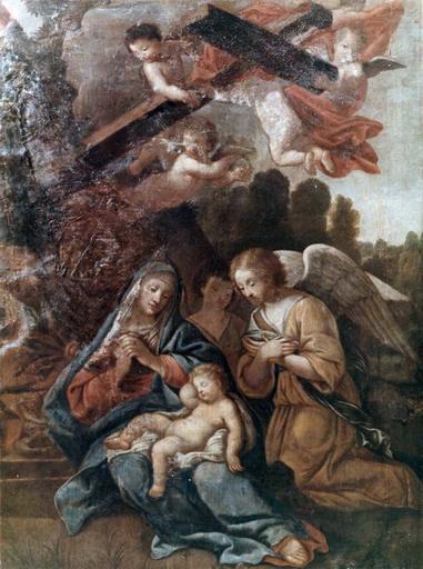 Tableau : saint Jérome dans le désert, huile sur toile, 17e ou 18e siècle