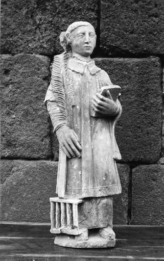 Statue de saint Laurent, pierre, 16e siècle, vue de face