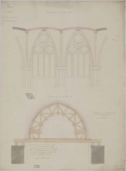 Restauration des voûtes de la nef