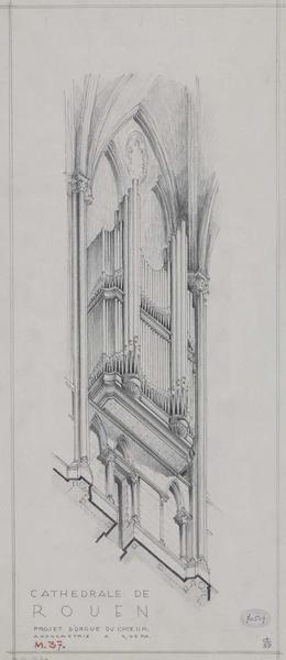 Projet d'orgue de choeur