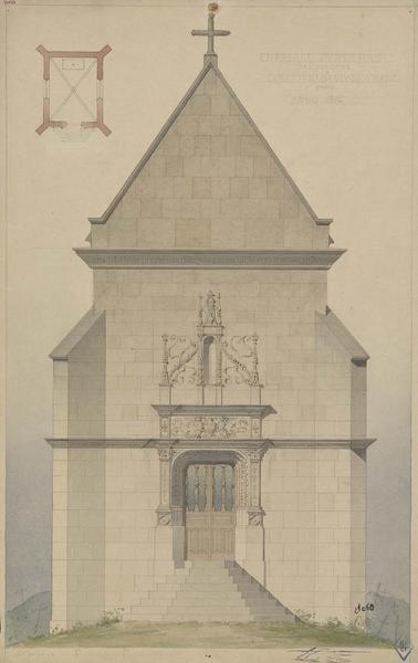 Chapelle funéraire Saint-Croix dite chapelle Le Cosquyno