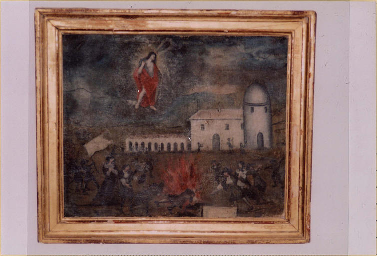 Ex-voto à saint Jean-Baptiste : Le Miracle du feu