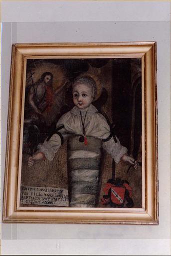 ex-voto à saint Jean-Baptiste : l'enfant seigneurial