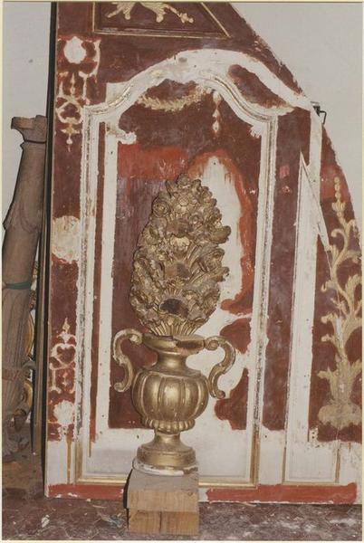 Autel de la Vierge, détail