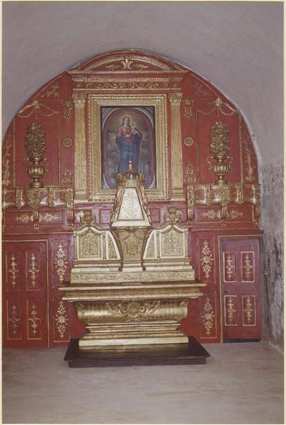Autel de la Vierge, vue générale