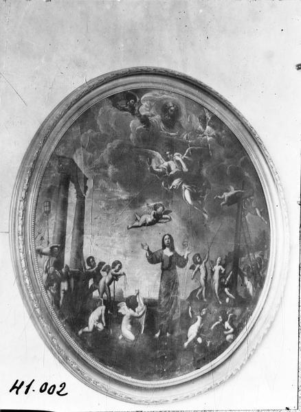 tableau : Le Triomphe du Christ, vue générale