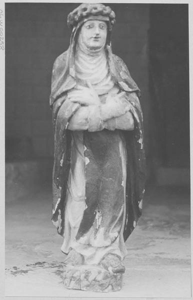 Statue : sainte Rose de Lima