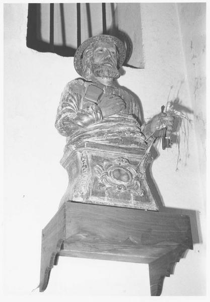 Buste-reliquaire : saint Pierre