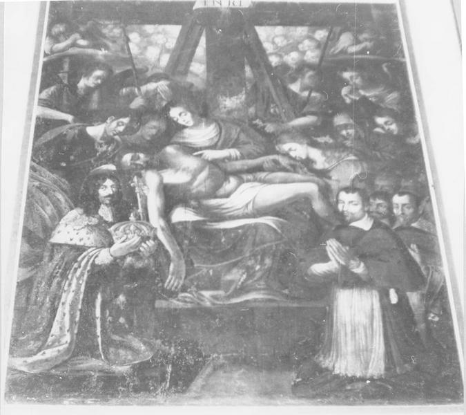 Tableau : Voeu de Louis XIII