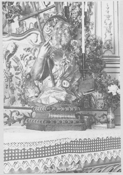 Buste-reliquaire de saint Jean-Baptiste