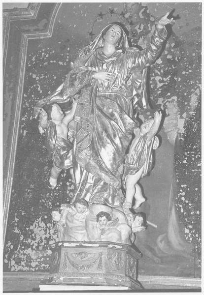 statue : Vierge en Assomption